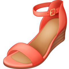 Womans Sandal facebook emoji