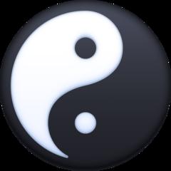 Yin Yang facebook emoji