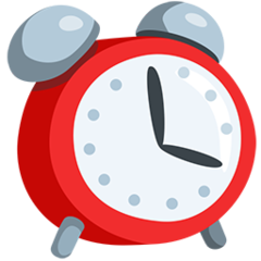 Alarm Clock facebook messenger emoji