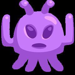 Alien Monster facebook messenger emoji