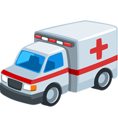 Ambulance facebook messenger emoji