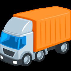 Articulated Lorry facebook messenger emoji
