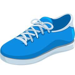Athletic Shoe facebook messenger emoji