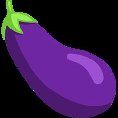 Aubergine facebook messenger emoji