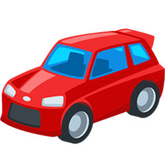 Automobile facebook messenger emoji