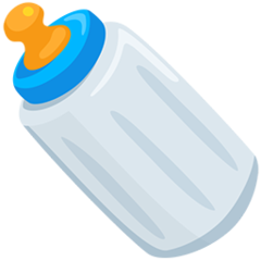 Baby Bottle facebook messenger emoji