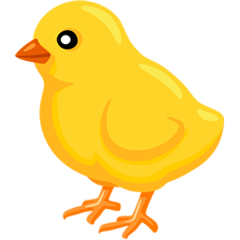 Baby Chick facebook messenger emoji