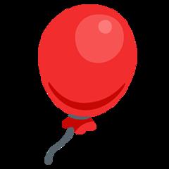 Balloon facebook messenger emoji
