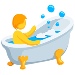Bath facebook messenger emoji
