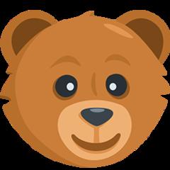 Bear Face facebook messenger emoji