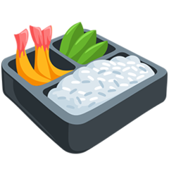 Bento Box facebook messenger emoji