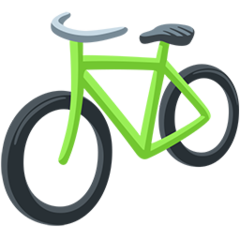 Bicycle facebook messenger emoji
