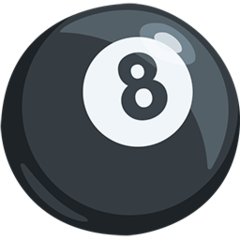 Billiards facebook messenger emoji