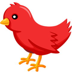 Bird facebook messenger emoji