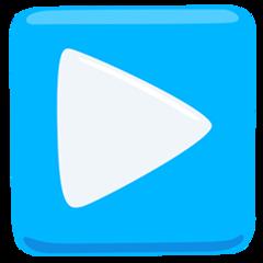 Black Right-pointing Triangle facebook messenger emoji
