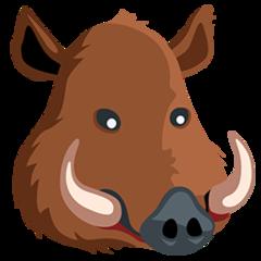 Boar facebook messenger emoji