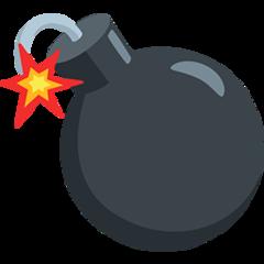 Bomb facebook messenger emoji