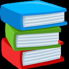 Books facebook messenger emoji