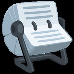 Card Index facebook messenger emoji