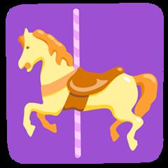 Carousel Horse facebook messenger emoji
