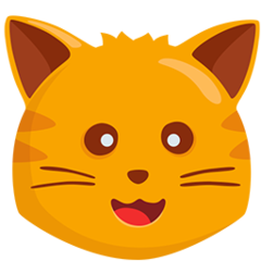 Cat Face facebook messenger emoji