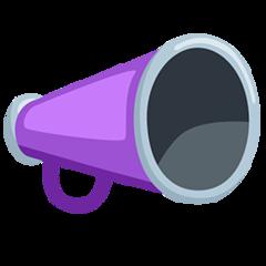 Cheering Megaphone facebook messenger emoji