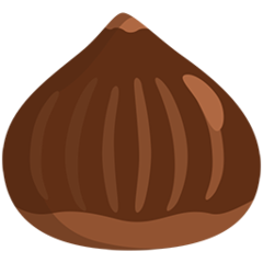 Chestnut facebook messenger emoji