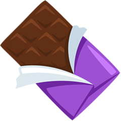 Chocolate Bar facebook messenger emoji
