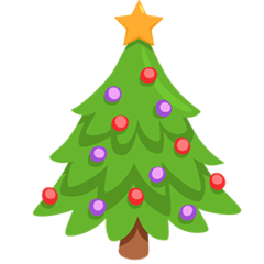 Christmas Tree facebook messenger emoji