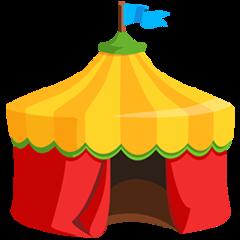 Circus Tent facebook messenger emoji