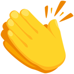 Clapping Hands Sign facebook messenger emoji