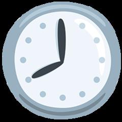 Clock Face Eight Oclock facebook messenger emoji