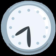 Clock Face Eight-thirty facebook messenger emoji