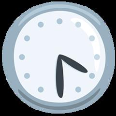 Clock Face Four-thirty facebook messenger emoji
