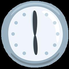 Clock Face Six Oclock facebook messenger emoji