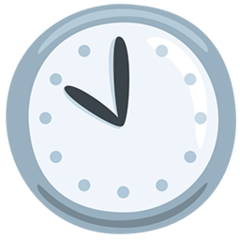 Clock Face Ten Oclock facebook messenger emoji