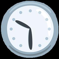 Clock Face Ten-thirty facebook messenger emoji