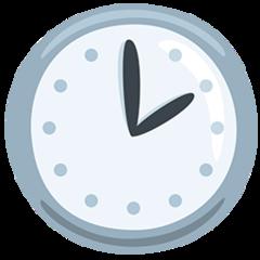 Clock Face Two Oclock facebook messenger emoji