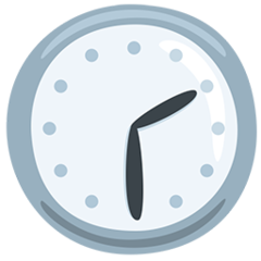 Clock Face Two-thirty facebook messenger emoji