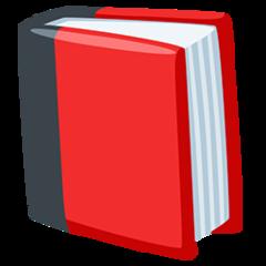 Closed Book facebook messenger emoji