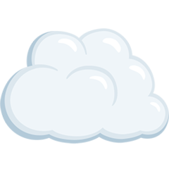 Cloud facebook messenger emoji