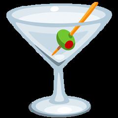 Cocktail Glass facebook messenger emoji