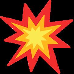 Collision Symbol facebook messenger emoji
