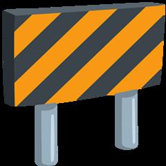 Construction Sign facebook messenger emoji