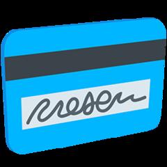 Credit Card facebook messenger emoji
