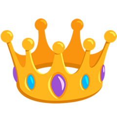Crown facebook messenger emoji