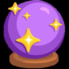 Crystal Ball facebook messenger emoji