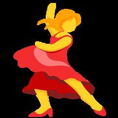 Dancer facebook messenger emoji