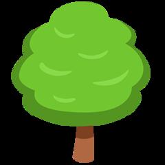 Deciduous Tree facebook messenger emoji