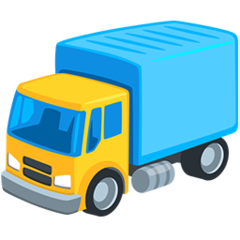 Delivery Truck facebook messenger emoji